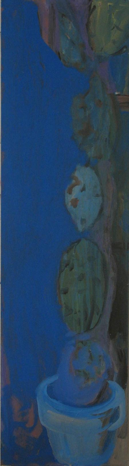 Zátiší IV, 122 x 30 cm, akryl na sololitu