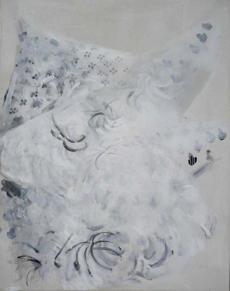 Deka III, 180 x 140  cm, akryl na plátně