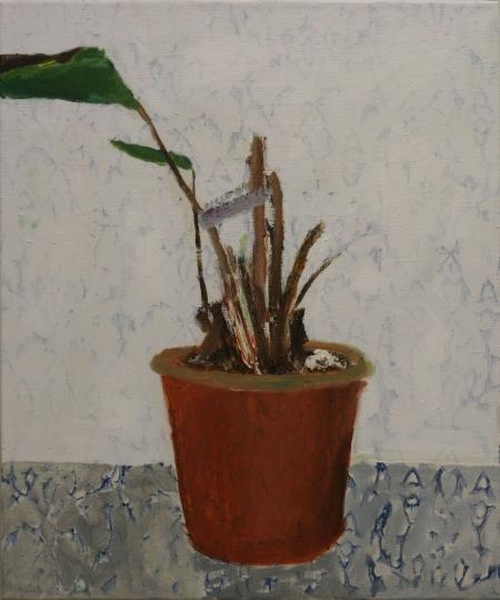 Maranta I, 60 x 50  cm, akryl na plátně