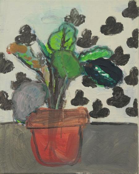 Maranta III, 50 x 40  cm, akryl na plátně