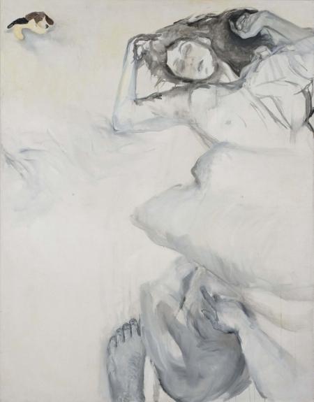 Deka I, 180 x 140 cm, akryl na plátně