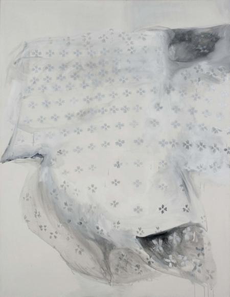 Deka II, 180 x 140 cm, akryl na plátně