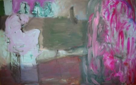 Park III, 110 x 175 cm cm, akryl na plátně