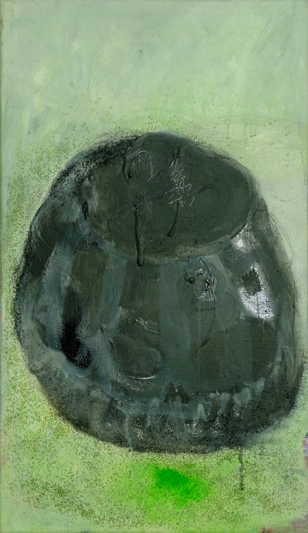 Bábovička XI, 90 x 50 cm, akryl na plátně