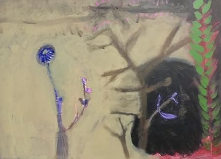 Větve, 50 x 70 cm, akryl na plátně