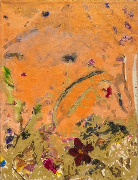 Klacíky, 70 x 50 cm, akryl na plátně